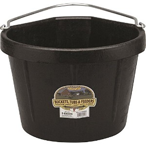 Miller Rubber Corner Bucket Black 5 Gallon - DFC20