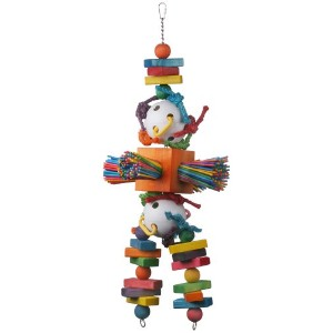 Super Bird Creations 30 by 11-Inch Willy Nilly Bird Toy, X-Large by Super Bird Creations