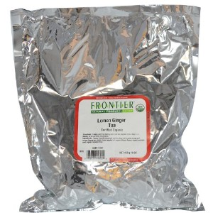 Frontier Natural Products, Organic Lemon Ginger Tea, 16 oz (453 g)