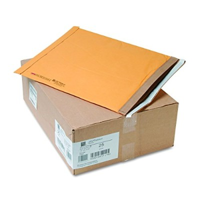 Jiffy Padded Self-Seal Mailer, Side Seam, #7, 14 1/4x20, Golden Brown,25/Carton (並行輸入品)