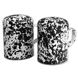 Crow CanyonキッチンSalt and Pepper Shakers D55BLM