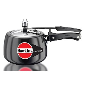 Hawkins Contura 3 Liters Hard Anodized Pressure Cooker by Mercantile International