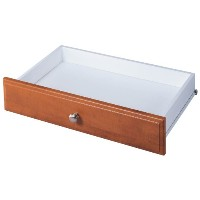 Easy Track RD2504-CON Closet Deluxe Drawer, 4-Inch, Cherry by Easy Track [並行輸入品]