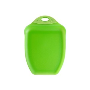 Dexas Chop & Scoop Cutting Board, 9.5 by 13 inches, Solid Green by Dexas