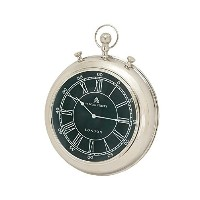 Deco 79 Metal Wall Clock, 24 by 30-Inch [並行輸入品]