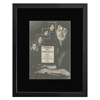 PAUL MCCARTNEY AND WINGS - Maybe I'm Amazed Framed Mini Poster - 53x43cm