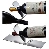 Visol Products Chablis Stainless Steel Wine Bottle Holder, Chrome [並行輸入品]