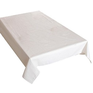 Zhhlaixing 高品質の Cotton Linen Pure Color Tablecloth Stain Simple Dust Proof Decor Table Cloth