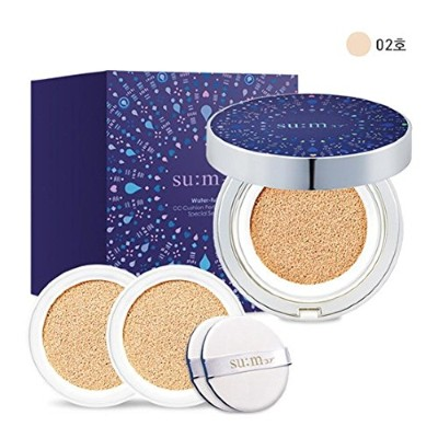 [su:m37/スム37°]Water Full CC Cushion Limited Edition Perfect finish No. 2 (SPF50+/ PA+++) / 水プール...