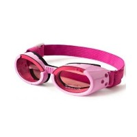 Doggles ILS Sunglasses, X-Large, Pink Frame/Pink Lens by Doggles