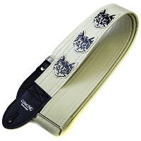 Couch Guitar Strap ギター用ストラップ ニャン・ ニャン・ ニャン・シロ / The Couch Cat Guitar Strap In All White