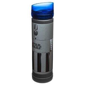 Zak! Designs Tritan Plastic Blue Light Saber Water Bottle with Screw-on Lid, BPA-free and Break...