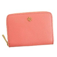 TORY BURCH トリーバーチ ROBINSON ZIP COIN CASE カードケース ダークピンク 11169105 [並行輸入品]