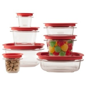 Rubbermaid 14-Piece New Premier Food Storage Container Set BPA Free by Rubbermaid