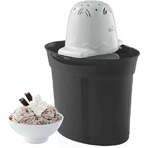 Rival Frozen Delights 4 Quart Ice Cream Maker - BLACK [並行輸入品]