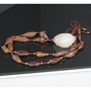 LuLuHouse 瑪瑙 ネックレス ペンダント agate アゲート Necklace 天然石 パワーストーン