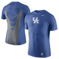 Kentucky Wildcats Nike Sideline Hypercool 3.0 Fitted Dri-FIT Top メンズ Royal ナイキ NCAA Tシャツ カレッジ インナー...