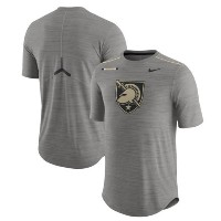 Army Black Knights Nike 2017 Player Breathe Dri-FIT Top メンズ Charcoal ナイキ NCAA Tシャツ カレッジ