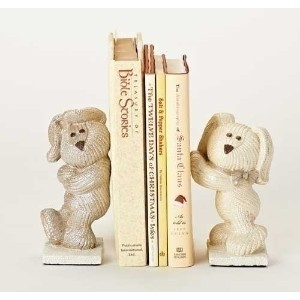 """6.5"""" Roman Some Bunny Loves Me CUTE Book Ends"""