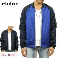 エルバイン elvine 正規販売店 メンズ MA-1 REVERSIBLE MA-1 BOMBER JACKET NAVY 1025 140