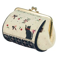 t&t frogmouth pouch L collection ガマグチポーチL テルテーヌ 61103-00