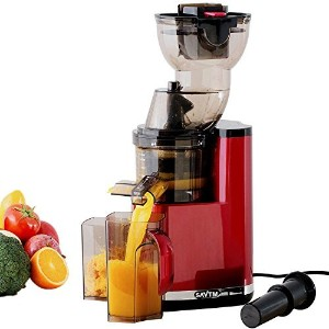 SAVTM JE120-08M00 New Electric Masticating Wide Mouth Whole Chute Anti-Oxidative Fruit and...