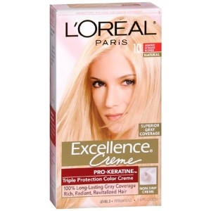 L`Oreal Excellence Creme - 10 Lightest Ultimate Blonde 1 Each