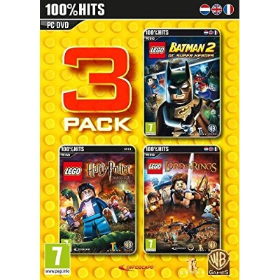 Lego 3 Pack: Lego Batman 2 / Lego Harry Potter 2 / Lego Lord of the Rings (PC DVD) (輸入版)