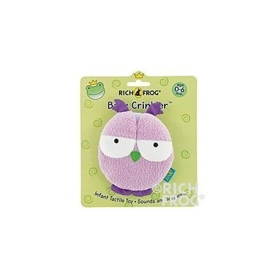 Rich Frog Baby Crinkler Owl by Rich Frog