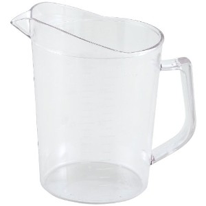 Winco Polycarbonate Measuring Cup, 1-Quart by Winco