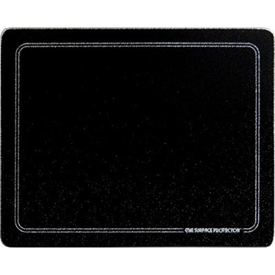 (20 X 16) - 20 X 16 Black with White Border Tempered Glass Surface Saver Cutting Board