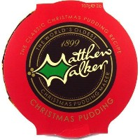 Matthew Walker Large Christmas Pudding (907g / 2lb) by Matthew Walker [並行輸入品]