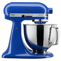 KitchenAid KSM150PSTB Artisan Series Stand Mixer with Pouring Shield, 5 quart, Twilight Blue by...