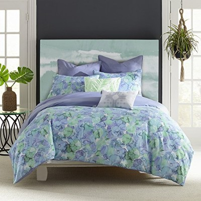 海のガラスComforter Set by Amy Sia Full/Queen グリーン 028828240354