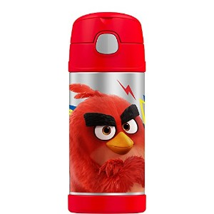 High Quality Funtainer 12 Ounce Bottle, Angry Birds