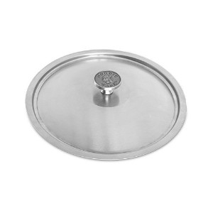 Nordic Ware Restaurant 10 inch Brushed Stainless-Steel Lid by Nordic Ware