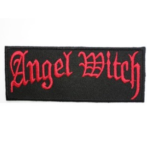 ANGEL WITCH Logo Iron On Sew On Embroidered Heavy Metal Patch3.9/9.8cm x 1.5/4cm BY MNC SHOP by MNC...