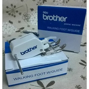 HONEYSEW Open Toe Walking Foot for brother Even Feed Foot F033N F033 XC2214002 Pressure Foot by...