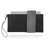 (Crabby Gear) Crabby Wallet - Thin Minimalist Front Pocket Wallet - L3 Leather Wallet