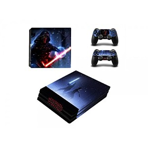 Third Party - Sticker Console PS4 Pro - Star Wars EP 7 - 3700936110978