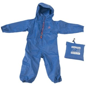 Hippychick Waterproof Packasuit All-In-One (Blue, 12 - 18 Months)