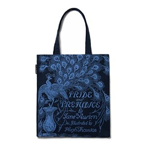 【Out of Print】 Jane Austen / Pride and Prejudice Tote Bag (Navy)