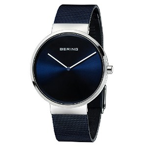 Bering Time 14531–307Womens Classic Collection Watch with Mesh Band and scratch resistantサファイアクリス...