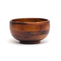 Lipper International Rice Bowl, Cherry Finish by Lipper International