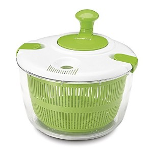 High Quality CTG-00-SAS Salad Spinner, Green and White