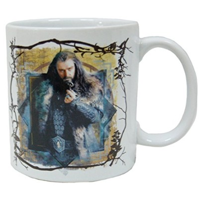 High Quality 4-Inch Ceramic Mug, 16-Ounce, The Hobbit Thorin Oakenshield