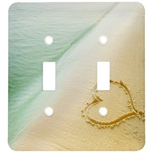 High Quality lsp_173299_2 Heart Shape Symbolizing Love, Heart Carved in Sand on The Beach Light...