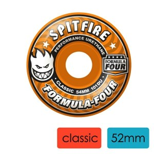 SKATEBOARD WHEELS スケートボード ウィール SPITFIRE WHEELS スピットファイヤーウィール FORMULA FOUR CLASSIC SKATEBOARD WHEELS...