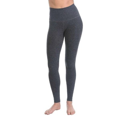 ビヨンドヨガ レディース ヨガ ウェア【Beyond Yoga Spacedye High Waist Long Legging】Black / Steel Spacedye