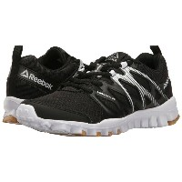 リーボック レディース シューズ・靴 スニーカー【RealFlex Train 4.0】Black/White/Reebok Rubber Gum/Silver Metallic
